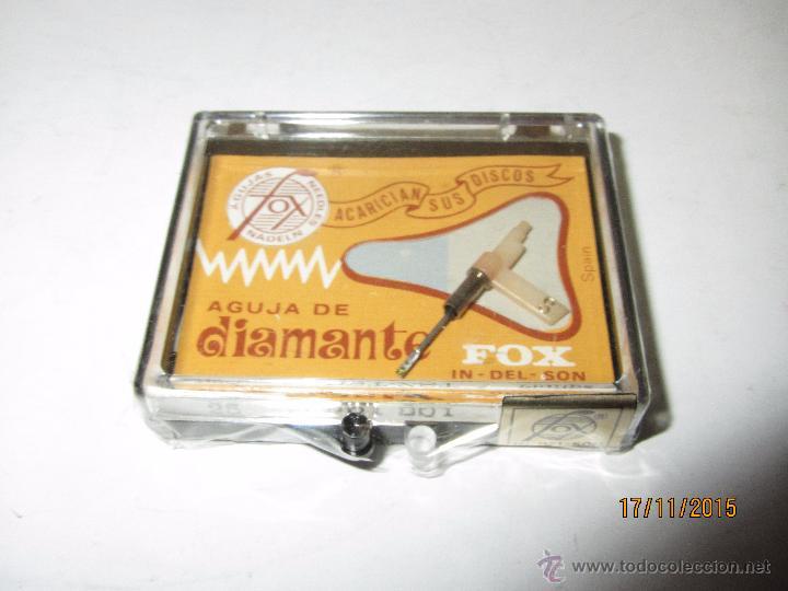 Radios antiguas: Antigua Aguja de Diamante FOX Tipo 25 DST-ZST - PHILIPS - Foto 3 - 52849626