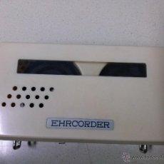 Radios antiguas: GRABADORA EHRCORDER A PILAS 1965 MADE IN JAPAN FUNCIONA. Lote 52880310