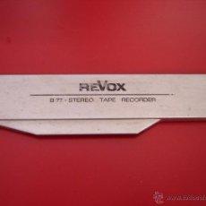 Radios antiguas: REVOX. Lote 52887507