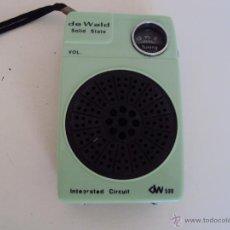 Radios antiguas: RADIO DE WALD. Lote 127782790
