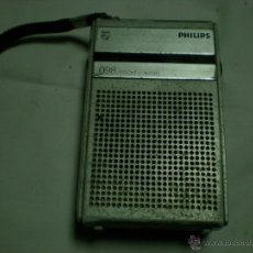 Radios antiguas: RADIO TRANSISTOR PHILIPS PORTATIL. Lote 52908957