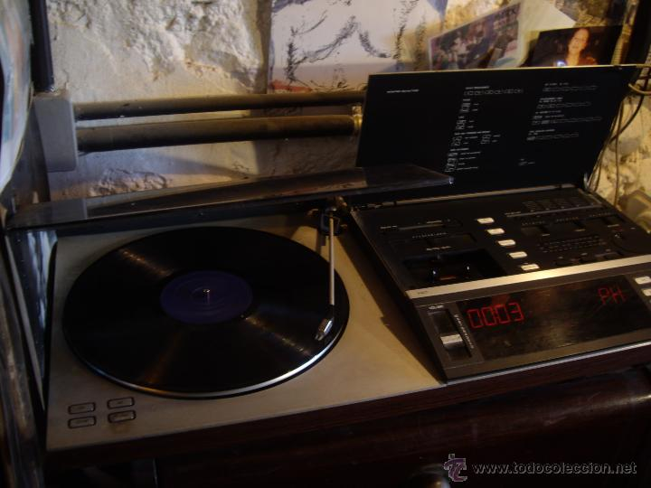 Radios antiguas: Tocadiscos radio cassette BANG & OLUFSEN BEOCENTER 7002, HI-FI año 1982, Made in Denmark - Foto 2 - 52968858