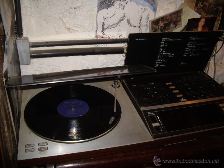 Radios antiguas: Tocadiscos radio cassette BANG & OLUFSEN BEOCENTER 7002, HI-FI año 1982, Made in Denmark - Foto 3 - 52968858