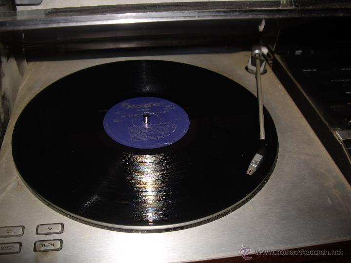 Radios antiguas: Tocadiscos radio cassette BANG & OLUFSEN BEOCENTER 7002, HI-FI año 1982, Made in Denmark - Foto 4 - 52968858