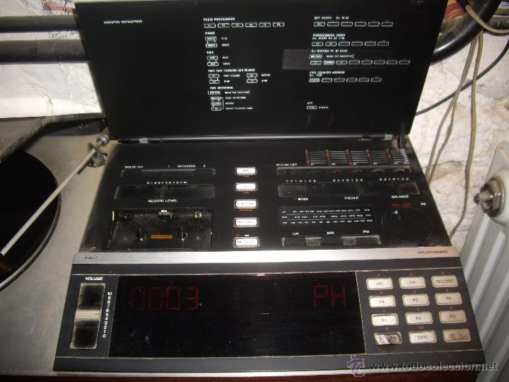Radios antiguas: Tocadiscos radio cassette BANG & OLUFSEN BEOCENTER 7002, HI-FI año 1982, Made in Denmark - Foto 5 - 52968858