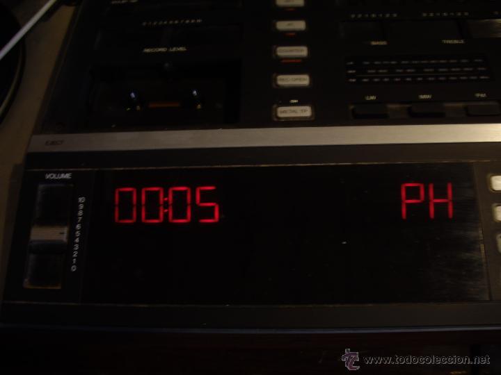 Radios antiguas: Tocadiscos radio cassette BANG & OLUFSEN BEOCENTER 7002, HI-FI año 1982, Made in Denmark - Foto 9 - 52968858