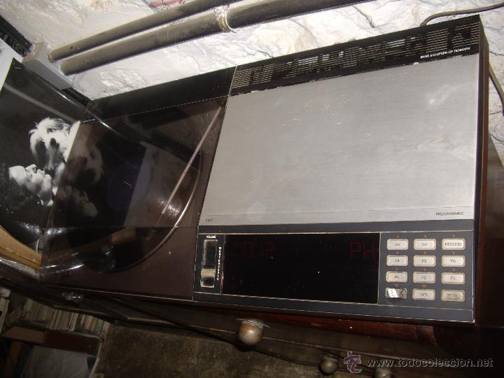 Radios antiguas: Tocadiscos radio cassette BANG & OLUFSEN BEOCENTER 7002, HI-FI año 1982, Made in Denmark - Foto 14 - 52968858