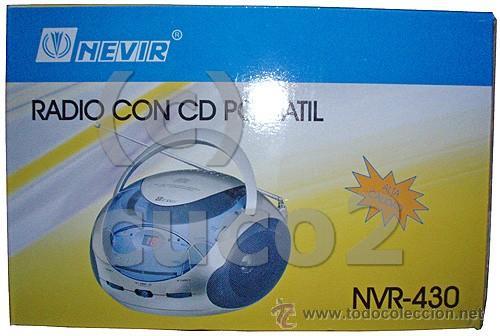 RADIO CON CD PORTATIL, REPRODUCTOR CD (PRECINTADO) (Radios, Gramófonos, Grabadoras y Otros - Transistores, Pick-ups y Otros)
