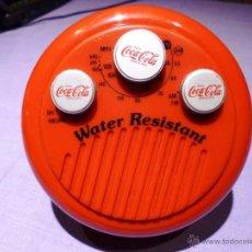 Radios antiguas: RADIO COCA-COLA AM-FM VINTAGE. Lote 52992993
