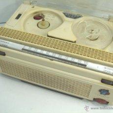Radios antiguas: MAGNETOFONO DICTAFONO MAGNETICO- GELOSO G.257 ITALY ¡¡FUNCIONANDO¡¡ MAGNETOFON HI-FI GRABADORA G257. Lote 53197228