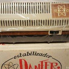 Radios antiguas: VINTAGE, ESTABILIZADOR DE TENSION PARA TV, MARCA DANFER, NUEVO Y EN SU CAJA ORIGINAL!. Lote 147755777