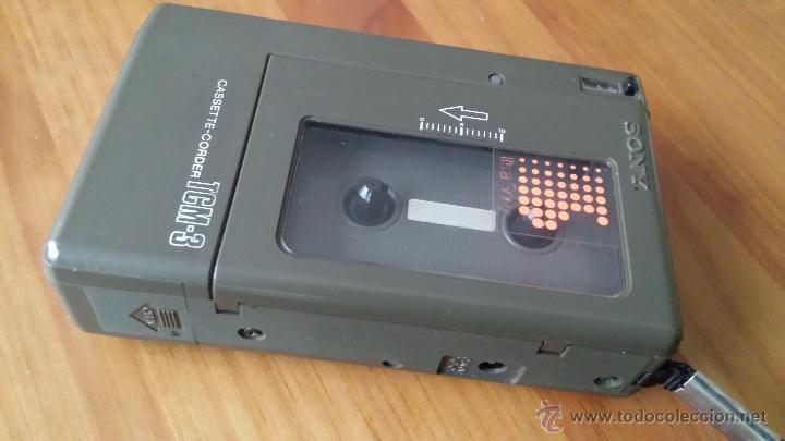 Radios antiguas: GRABADORA SONY. CASSETE CORDER TCM-3 - Foto 4 - 53414988