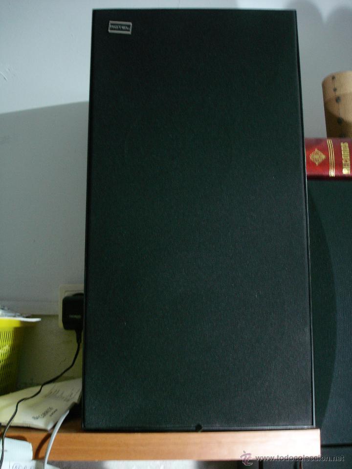 Radios antiguas: Altavoces Rotel de 3 vias. 52x26,5x26,5. Woofer de 8 pulgadas tweeters refrigerados por aceite. - Foto 2 - 53441975