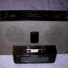 Radios antiguas: RADIO SONY ICF-C1IPMK2 IPHONE CLOCK AM/FM. Lote 53455274
