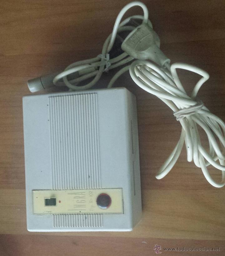 Radios antiguas: MAGNETOFÓN INGRA TR-65. CON TOMA DE CORRIENTE ORIGINAL Y MICROFONO. - Foto 3 - 53471099