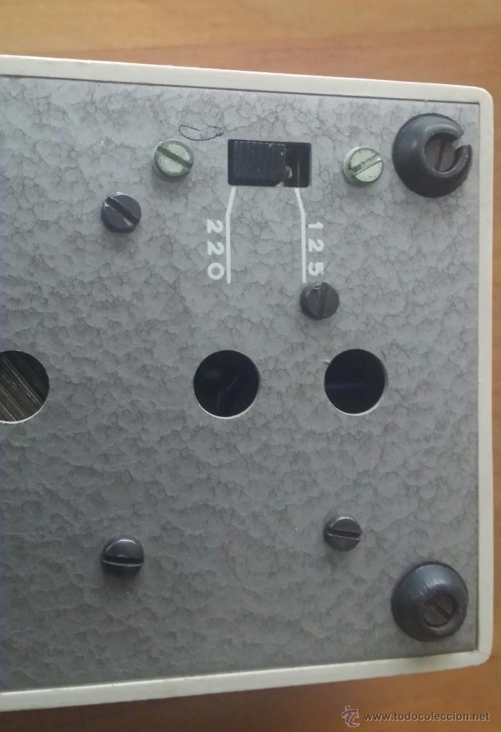 Radios antiguas: MAGNETOFÓN INGRA TR-65. CON TOMA DE CORRIENTE ORIGINAL Y MICROFONO. - Foto 5 - 53471099