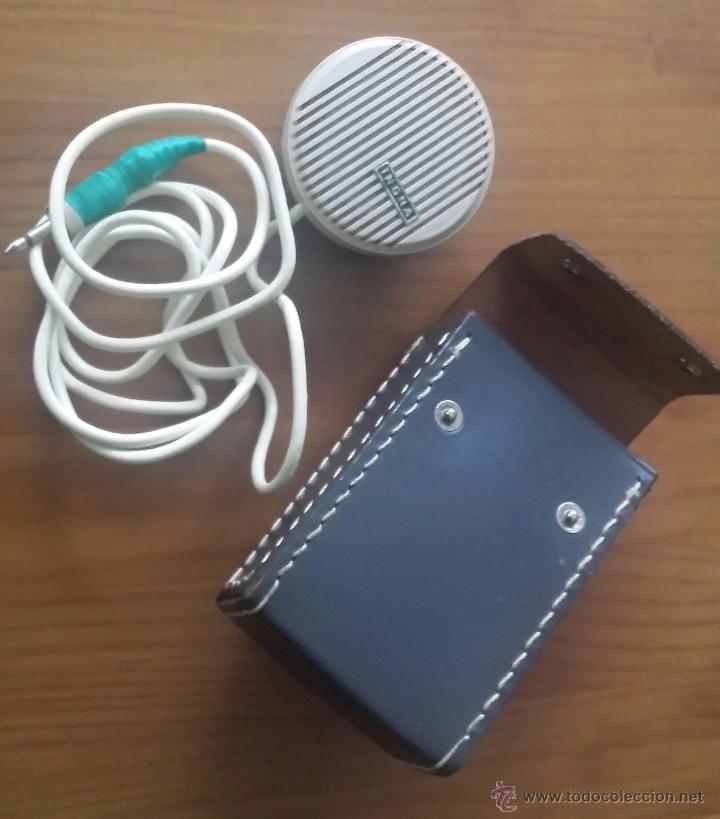 Radios antiguas: MAGNETOFÓN INGRA TR-65. CON TOMA DE CORRIENTE ORIGINAL Y MICROFONO. - Foto 6 - 53471099