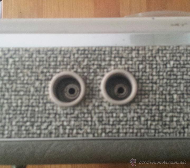 Radios antiguas: MAGNETOFÓN INGRA TR-65. CON TOMA DE CORRIENTE ORIGINAL Y MICROFONO. - Foto 7 - 53471099