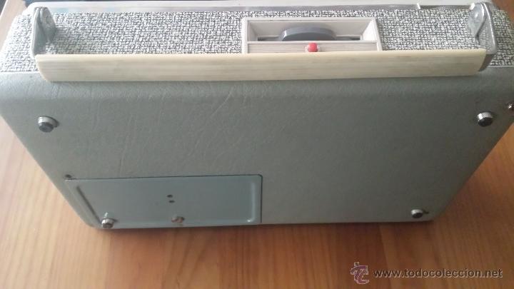 Radios antiguas: MAGNETOFÓN INGRA TR-65. CON TOMA DE CORRIENTE ORIGINAL Y MICROFONO. - Foto 8 - 53471099