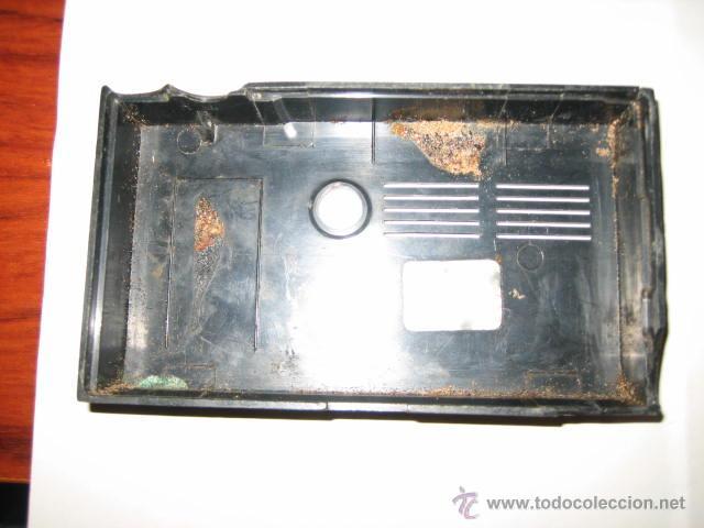 Radios antiguas: Pequeño transistor con reloj marca Waltham Standard - Foto 12 - 44736970