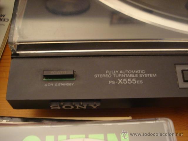 Radios antiguas: Tocadiscos tangencial SONY PS-X555ES alta gama de Sony, excelente estado, cartucho nuevo de Ortofon - Foto 2 - 53537127