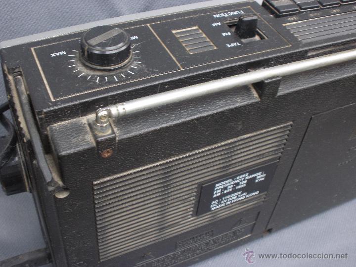 Radios antiguas: Radiocassette magnetofón International RADIO VINTAGE RETRO - Foto 3 - 53588106