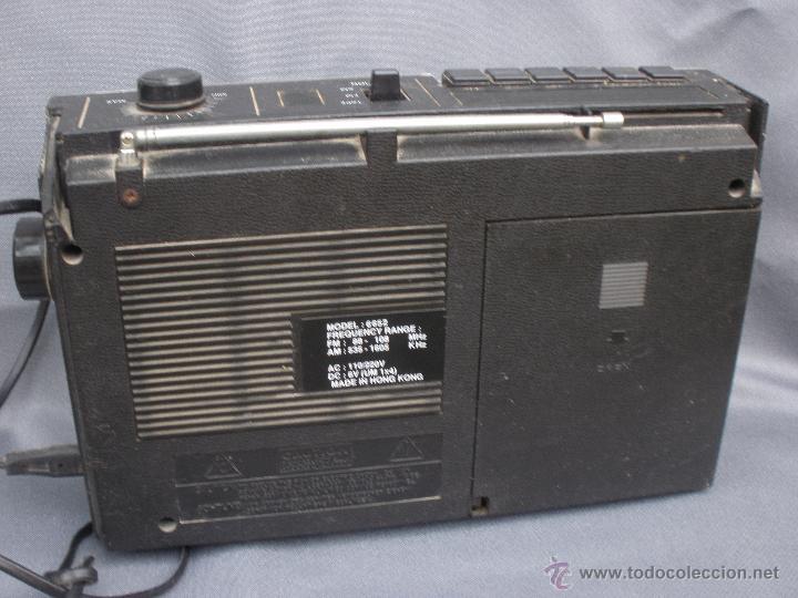Radios antiguas: Radiocassette magnetofón International RADIO VINTAGE RETRO - Foto 4 - 53588106
