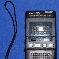 Radios antiguas: GRABADORA MICRO CASSETTE AIWA. Lote 53700276