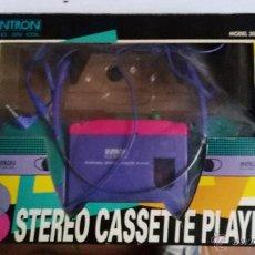 Radios antiguas: PRECIOSO WALKMAN CASSETTE STERO PLAYER . Lote 53759375