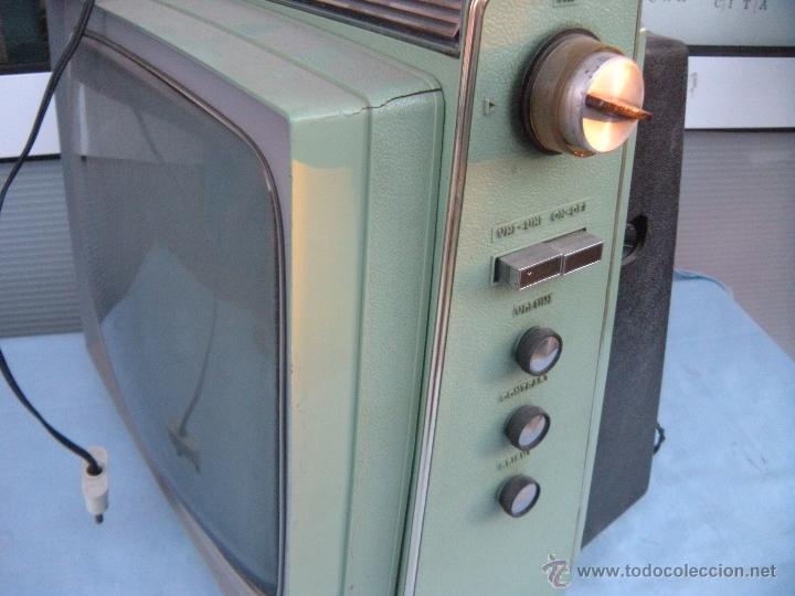 Radios antiguas: TELEVISOR PORTATIL GENERAL ELECTRICA ESPAÑOLA - Foto 4 - 53809960