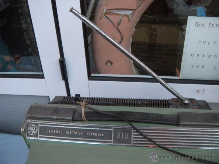 Radios antiguas: TELEVISOR PORTATIL GENERAL ELECTRICA ESPAÑOLA - Foto 5 - 53809960