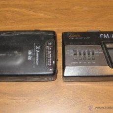 Radios antiguas: PAREJA DE WALKMAN AIWA Y EMERSON (PARA REPARACIÓN O REPUESTOS). Lote 53994780