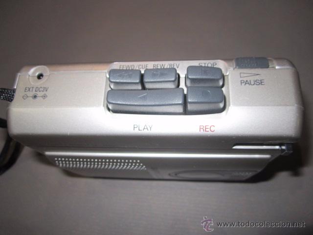 Radios antiguas: Cassette grabador Sanyo M-110, funcionando. - Foto 2 - 54000833