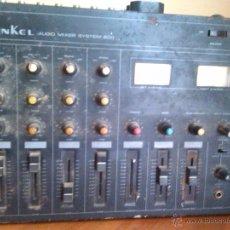 Radios antiguas: TABLA DE MEZCLAS INKEL. Lote 54191723
