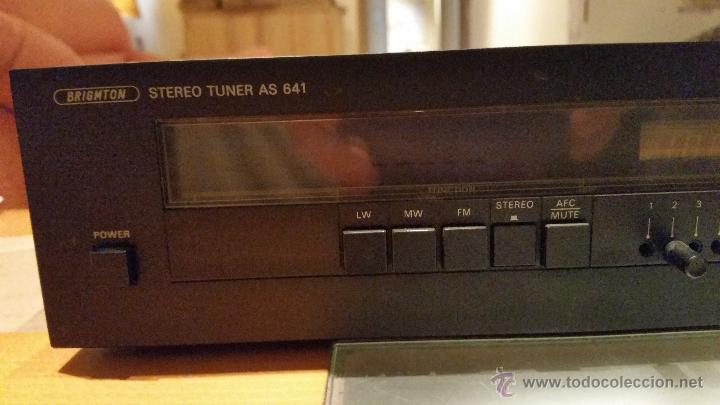 Radios antiguas: SINTONIZADOR BRIGMTON AS-641 - Foto 2 - 54298148