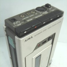 Radios antiguas: INCREIBLE WALKMAN VINTAGE - GRABADORA PERIODISTA-AIWA TP-20 -JAPAN 1977-ALUMINIO ¡¡FUNCIONA¡¡ TP20. Lote 54349740