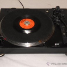 Radios antiguas: TOCADISCOS PLATO DJ FONESTAR SF-2400B (TIPO TECHNICS) PITCH ADJUST BELT DRIVE TURNTABLE VINILO RETRO. Lote 54416882