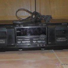 Radios antiguas: PLETINA DOBLE SONY TC-WE435. Lote 54451481