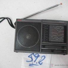 Radios antiguas: ANTIGUA RADIO MULTIBANDAS PHILIPS (9 BANDAS) FUNCIONANDO PERFECTAMENTE. Lote 54576076