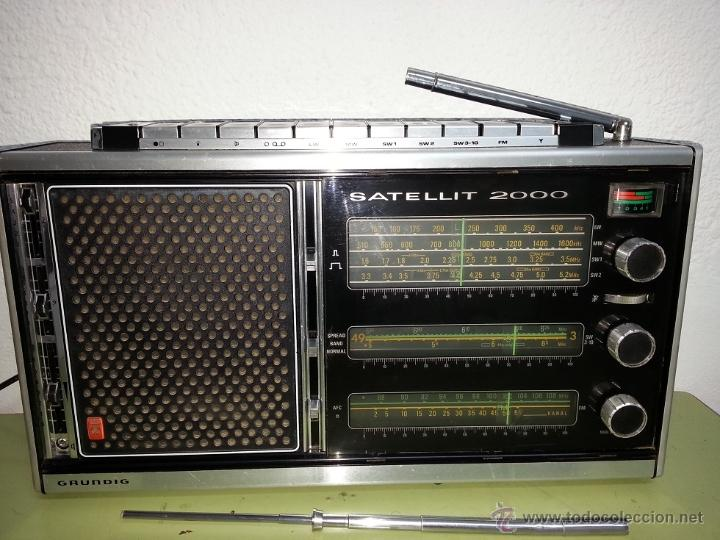 Radios antiguas: RADIO MULTIBANDAS GRUNDIG SATELLIT 2000 - Foto 4 - 54596350