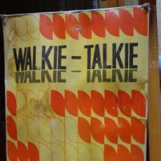 Radios antiguas: WALKIE TALKIE. Lote 50635696