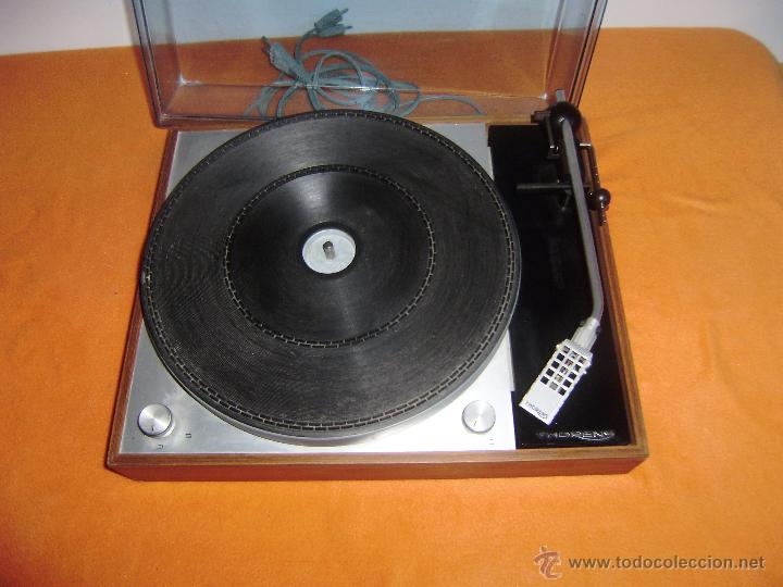 Tocadiscos giradiscos thorens td 150 mk ii made - Sold at Auction
