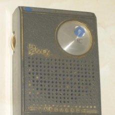 Radios antiguas: RADIO VANGUARD,MODELO MINI SAMOS,FABRICADO EN ESPAÑA.AÑOS 60.. Lote 54905474