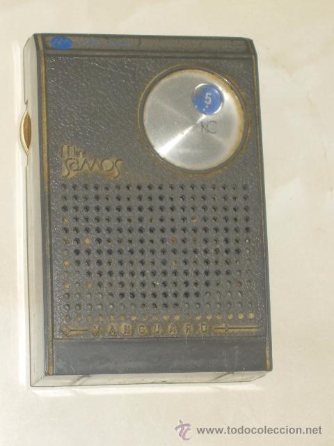 Radios antiguas: RADIO VANGUARD,MODELO MINI SAMOS,FABRICADO EN ESPAÑA.AÑOS 60. - Foto 2 - 54905474