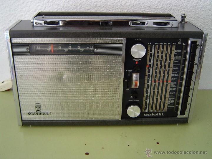 RADIO MULTIBANDAS GRUNDIG SATELLIT 5000 (Radios, Gramófonos, Grabadoras y Otros - Transistores, Pick-ups y Otros)