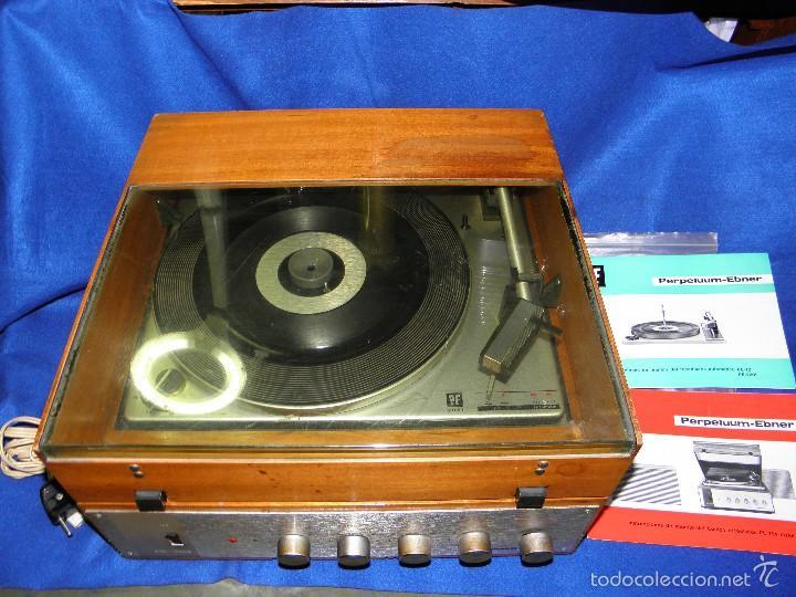 TOCADISCOS PERPETUUM-EBNER DE LUXE (Radios, Gramófonos, Grabadoras y Otros - Transistores, Pick-ups y Otros)