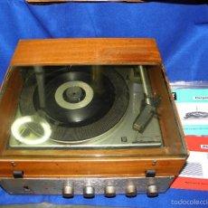 Radios antiguas: TOCADISCOS PERPETUUM-EBNER DE LUXE. Lote 55142055