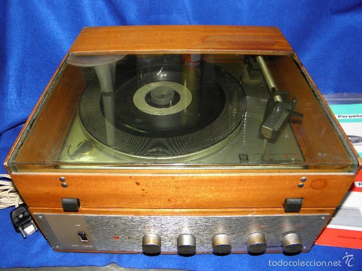 Radios antiguas: TOCADISCOS PERPETUUM-EBNER DE LUXE - Foto 2 - 55142055