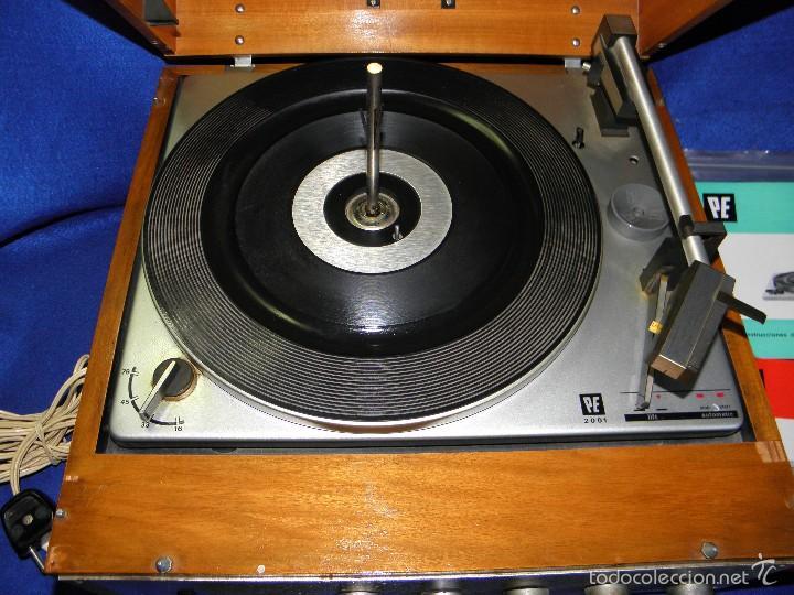 Radios antiguas: TOCADISCOS PERPETUUM-EBNER DE LUXE - Foto 4 - 55142055