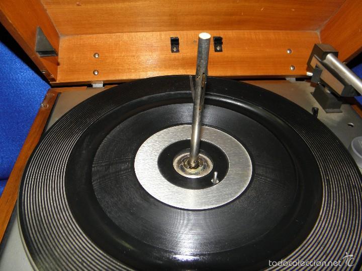 Radios antiguas: TOCADISCOS PERPETUUM-EBNER DE LUXE - Foto 5 - 55142055